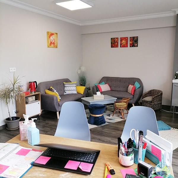 Bureau cabinet psychologue libérale Buxerolles